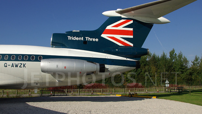 G-AWZK - Hawker Siddeley HS-121 Trident 3B - British European Airways (BEA)