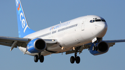 G-XLAF - Boeing 737-86N - Excel Airways