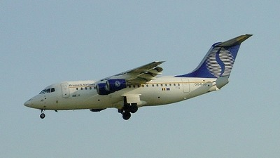 OO-DJO - British Aerospace Avro RJ85 - SN Brussels Airlines