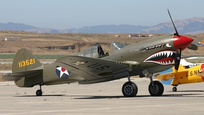 NX940AK - Curtiss P-40 Kittyhawk - Untitled