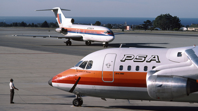 N365PS - British Aerospace BAe 146-200 - Pacific Southwest Airlines (PSA)