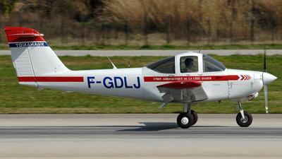 F-GDLJ - Piper PA-38-112 Tomahawk - Union Aéronautique de la Côte d'Azur