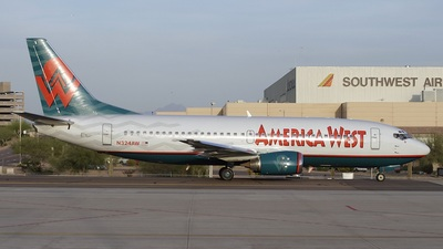 N324AW - Boeing 737-301 - America West Airlines