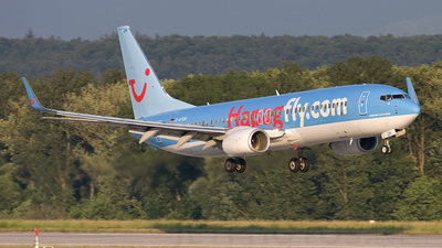 D-ATUH - Boeing 737-8K5 - TUIfly
