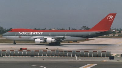 N622US - Boeing 747-251B - Northwest Airlines