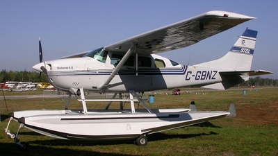 C-GBNZ - Cessna U206G Stationair - Private