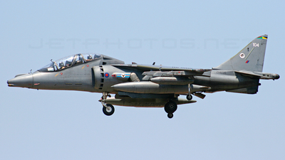 ZH656 - British Aerospace Harrier T.10 - United Kingdom - Royal Air Force (RAF)