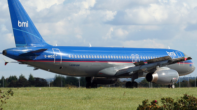 G-MIDZ - Airbus A320-232 - bmi British Midland International
