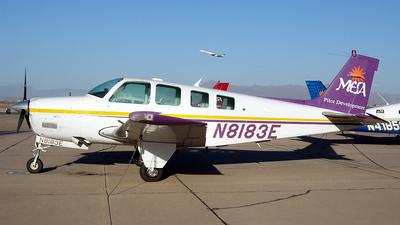 A picture of N8183E - BeechA36 Bonanza - [E2612] - © Sun Valley Aviation