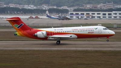 B-1110L - COMAC ARJ21-700 - Commercial Aviation