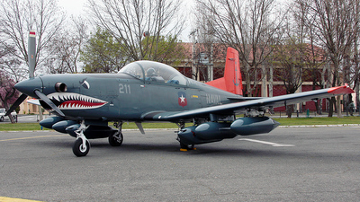 211 - Pilatus PC-7 - Chile - Navy