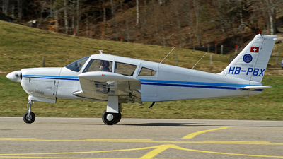 A picture of HBPBX - Piper PA28R200 - [28R7135207] - © Jean-Charles Sautaux
