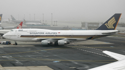 9V-SPG - Boeing 747-412 - Singapore Airlines