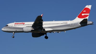 I-EEZE - Airbus A320-214 - Eurofly