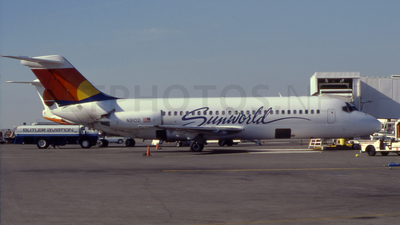 N9102 - McDonnell Douglas DC-9-14 - Sunworld International Airlines