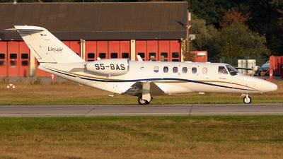 S5-BAS - Cessna 525 CitationJet 1 - Linxair
