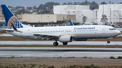 N73278 - Boeing 737-824 - Continental Airlines