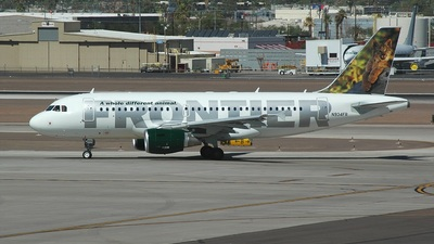 N934FR - Airbus A319-111 - Frontier Airlines