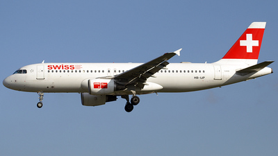 HB-IJP - Airbus A320-214 - Swiss