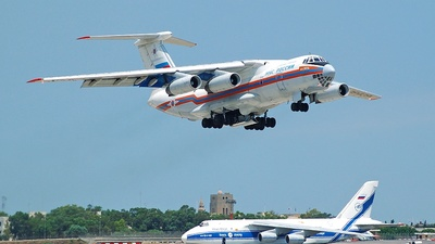 RA-76429 - Ilyushin IL-76TD - Russia - Ministry for Emergency Situations (MChS)