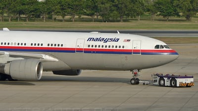 9M-MKX - Airbus A330-223 - Malaysia Airlines