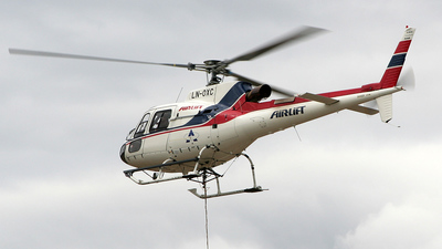 LN-OXC - Eurocopter AS 350B3 Ecureuil - Airlift