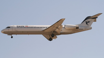 EP-CFE - Fokker 100 - Iran Air
