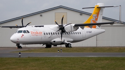 LY-DAT - ATR 42-500 - Druk Air - Royal Bhutan Airlines