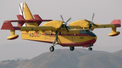 UD.13T-27 - Canadair CL-215T - Spain - Air Force
