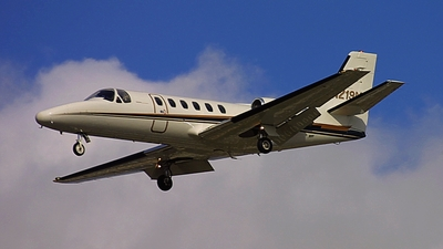 A picture of N219MS - Cessna 550 Citation II - [5500180] - © cicadajet