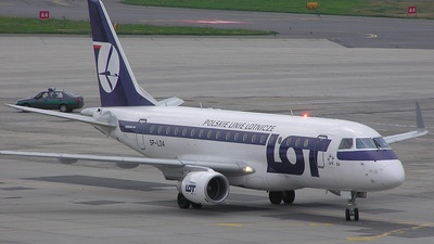 SP-LDA - Embraer 170-100STD - LOT Polish Airlines