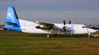 PH-KXH - Fokker 50 - SkyWest Airlines