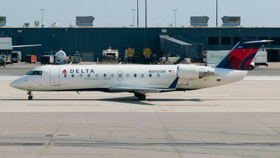N590SW - Bombardier CRJ-100ER - Delta Connection (Comair)