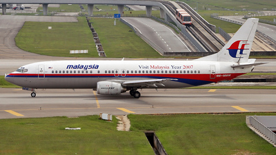 9M-MMW - Boeing 737-4H6 - Malaysia Airlines