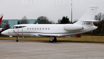 LX-SAM - Dassault Falcon 2000 - Global Jet Luxembourg