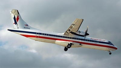 N308AE - ATR 72-202 - American Eagle (Executive Airlines)