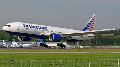 EI-UNX - Boeing 777-222(ER) - Transaero Airlines