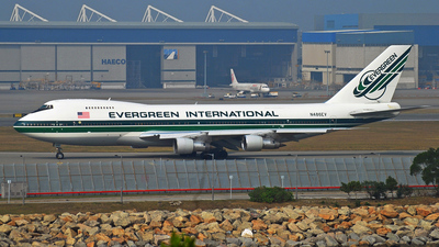 N486EV - Boeing 747-212B(SF) - Evergreen International Airlines