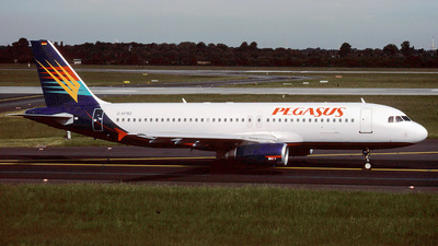 D-AFRO - Airbus A320-231 - Pegasus Airlines