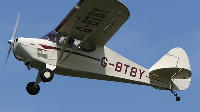 G-BTBY - Piper PA-17 Vagabond - Private