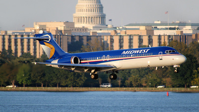 N919ME - Boeing 717-2BL - Midwest Airlines