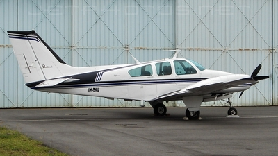 A picture of VHBKA - Beech 95B55 Baron - [TC1266] - © DaveWilson
