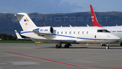 EC-JNV - Bombardier CL-600-2B16 Challenger 604 - Jets Personales