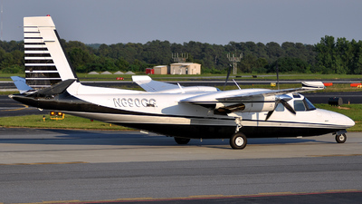 A picture of N690GG - Rockwell 690B - [11411] - © John - 4a7 Spotters