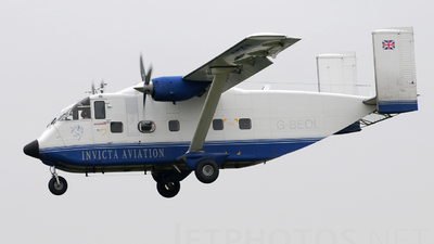 G-BEOL - Short SC-7 Skyvan 3-100 - Invicta Aviation