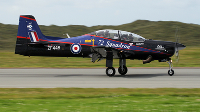 ZF448 - Short Tucano T.1 - United Kingdom - Royal Air Force (RAF)