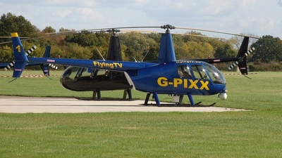 G-PIXX - Robinson R44 Raven II Newscopter - Flying TV
