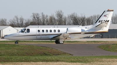 A picture of N574M - Cessna 550 Citation Bravo - [5500910] - © Bruce Leibowitz