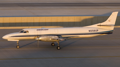 N556UP - Swearingen SA227-AT Expediter - Ameriflight