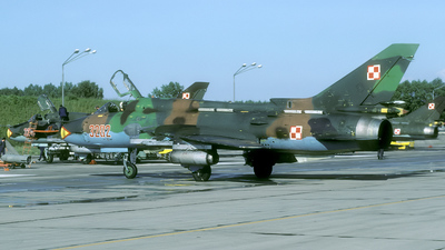 3202 - Sukhoi Su-22M4 Fitter K - Poland - Air Force